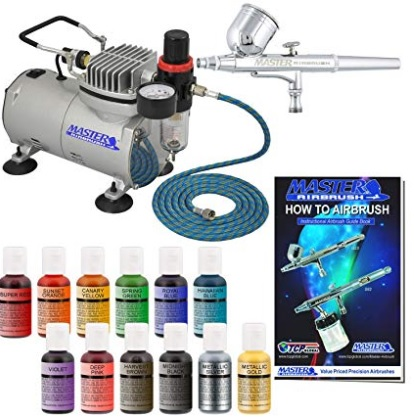 Pro Master Airbrush Cake Decorating Airbrush System Kit